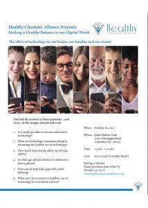 Striking a Healthy Balance Our Digital World