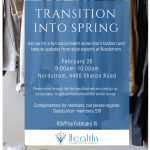 Transition Into Spring