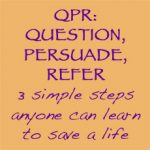 Question, Persuade, Refer (QPR) Training